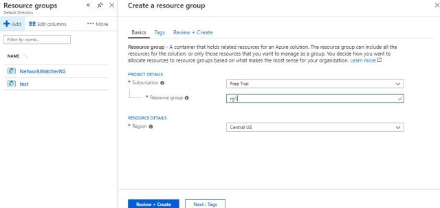Vnet to Vnet connectivity in Azure