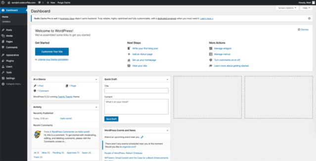 Fresh WordPress Install – What Next? General Settings, Permalinks, Media, Privacy, Profile Picture, etc