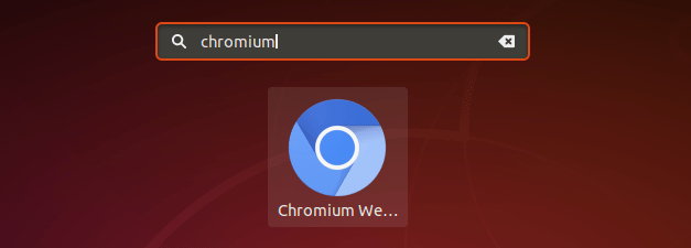 How to Install Chromium Browser on Ubuntu 18.04