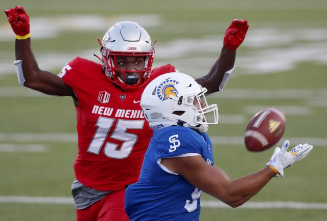 San Jose State beats New Mexico for first 2-0 start since Reagan administration