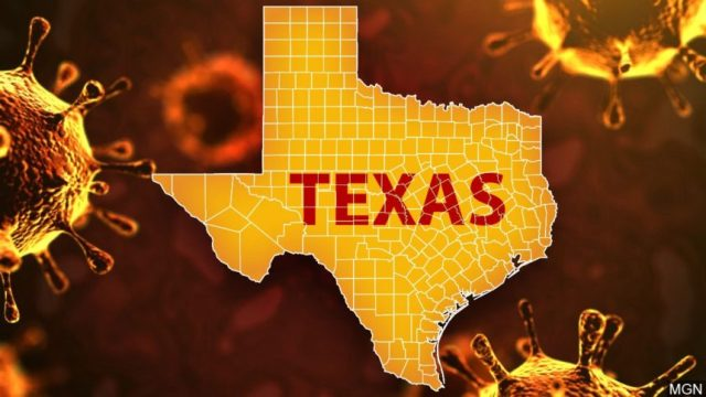 Texas has most active virus cases – 84,000 – since summer peak