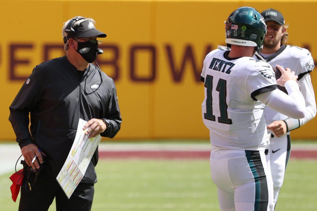 Eagles' Doug Pederson riding Carson Wentz to the unemployment line