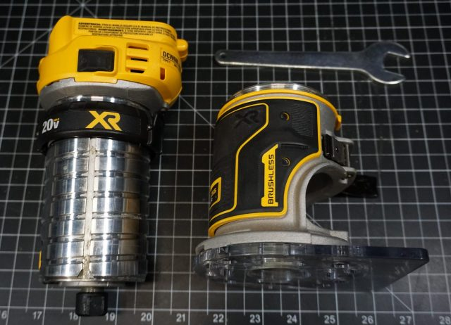 Outside The Cubicle   DeWalt 20v Max Cordless Router