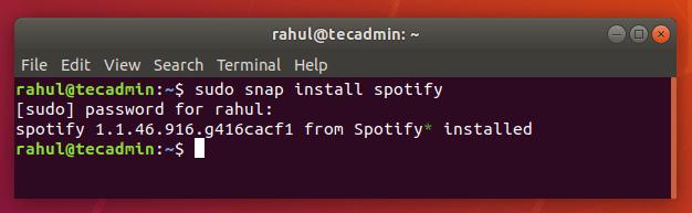 How to Install Spotify on Ubuntu 18.04