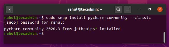 How to Install PyCharm on Ubuntu 20.04