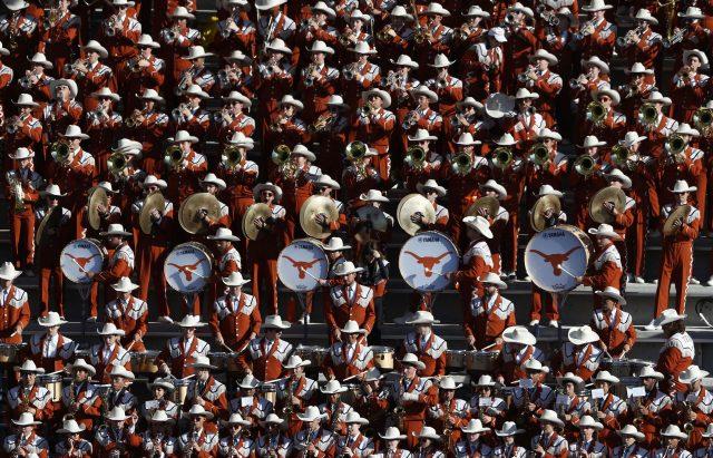 University of Texas Longhorns band