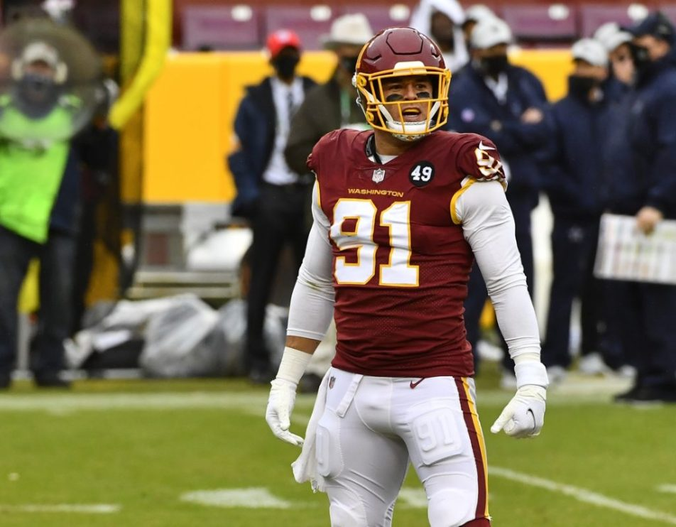 NFL free agent: Ryan Kerrigan signs with the Baltimore Ravens
