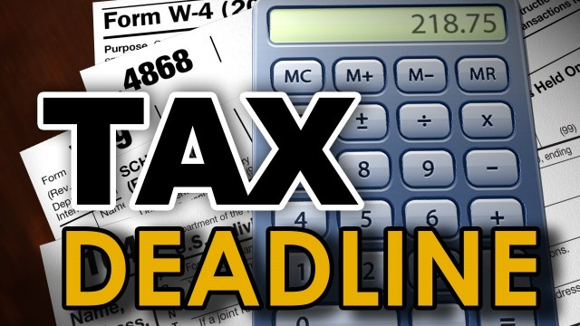 Monday's tax day – but Texans get until June; here's what you need to know about filing
