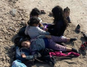 Texas farmer finds 5 abandoned migrant girls, all under the age of 7
