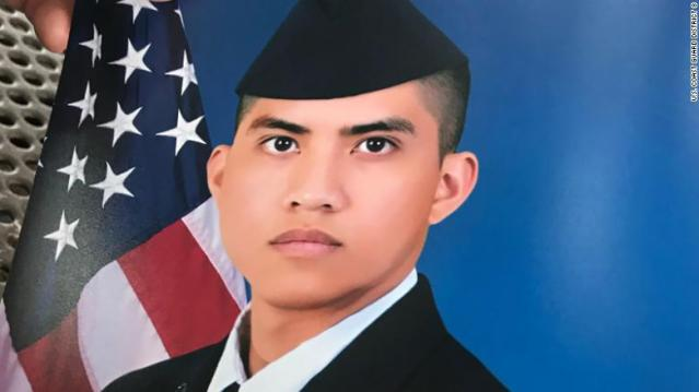 Family finds body of missing airman off Texas coast after Coast Guard suspends search