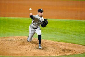 Yankees right-hander Corey Kluber throws majors' 6th no-hitter of season and 2nd in 2 days, beating Rangers 2-0