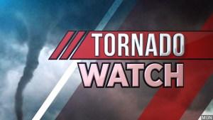 Tornado Watch for Culberson, Hudspeth, & Otero counties