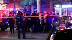 At least 13 injured, 2 critically, in shooting in downtown Austin