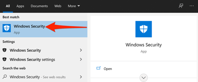 7 open windows security