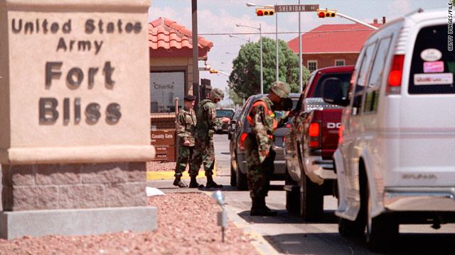Fort Hood, Fort Bliss lead all Army posts in risk of sexual assault