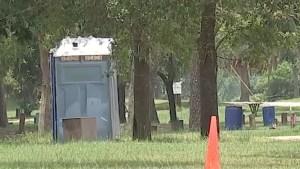 Baby found dead in porta-potty near river area in Texas park