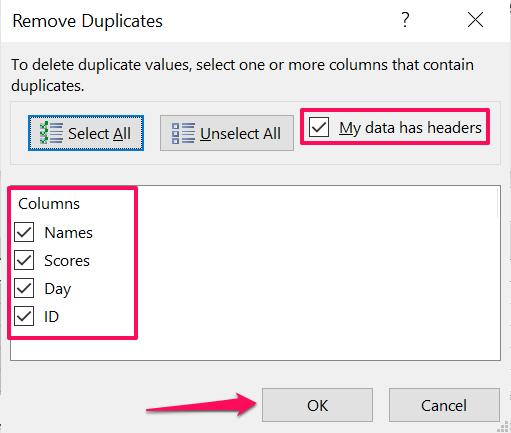 15 remove duplicate rows