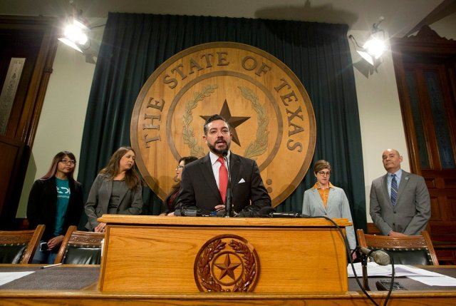 El Paso's Caesar Blanco among 9 no-shows in Texas Senate, joins vote bill protest