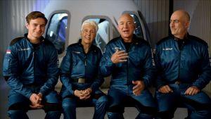 Watch LIVE: Bezos riding own rocket on human spaceflight
