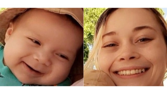 missing baby woman