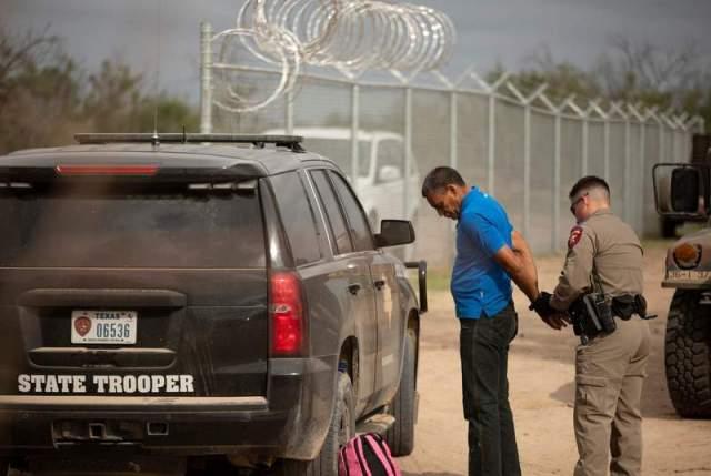 trooper arrests migrant 2