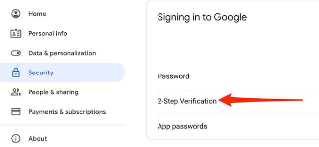 11 two step verification