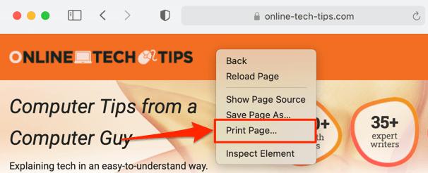 21 save webpage pdf safari