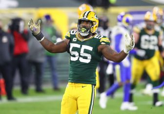 Green Bay Packers to place Za'Darius Smith (back) on IR