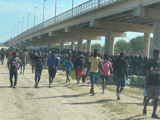 haitians bridge scaled 5