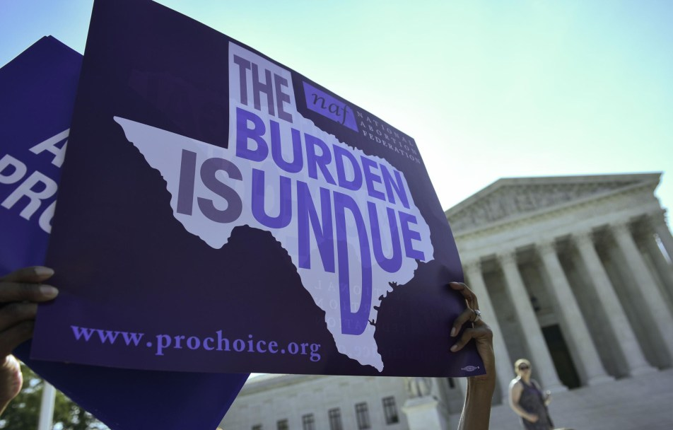 A federal judge in Texas issued an order Wednesday blocking the state's six-week abortion ban.