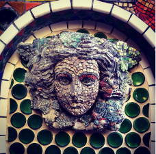 George Ehling Mosaic House tour