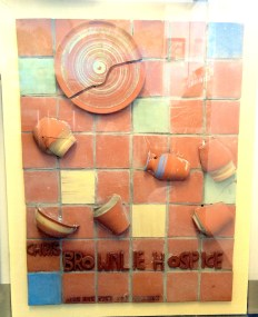 Ceramic Insert From Chris Brownlie Aids Hospice