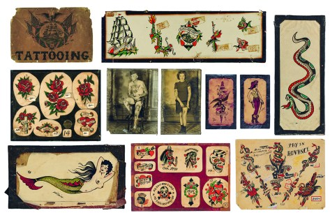 Vintage Tatto Flash