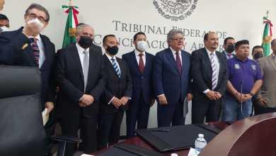 Photo of Otorga toma de nota el TFCyA a la dirigencia del SUTGCDMX.