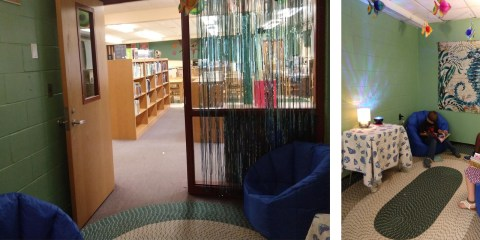 New Reading Grotto at WES