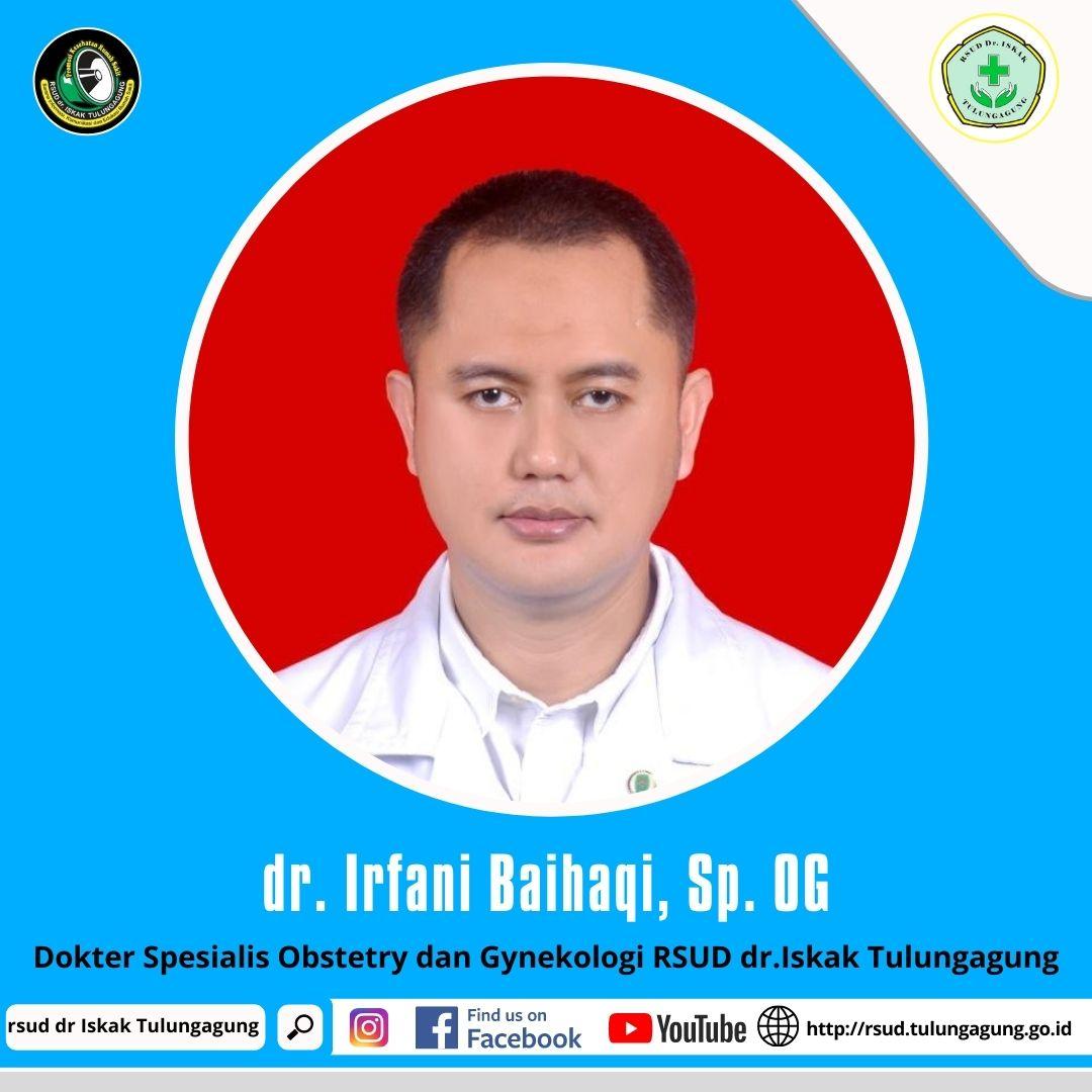 dr. IRFANI BAIHAQI, Sp.OG