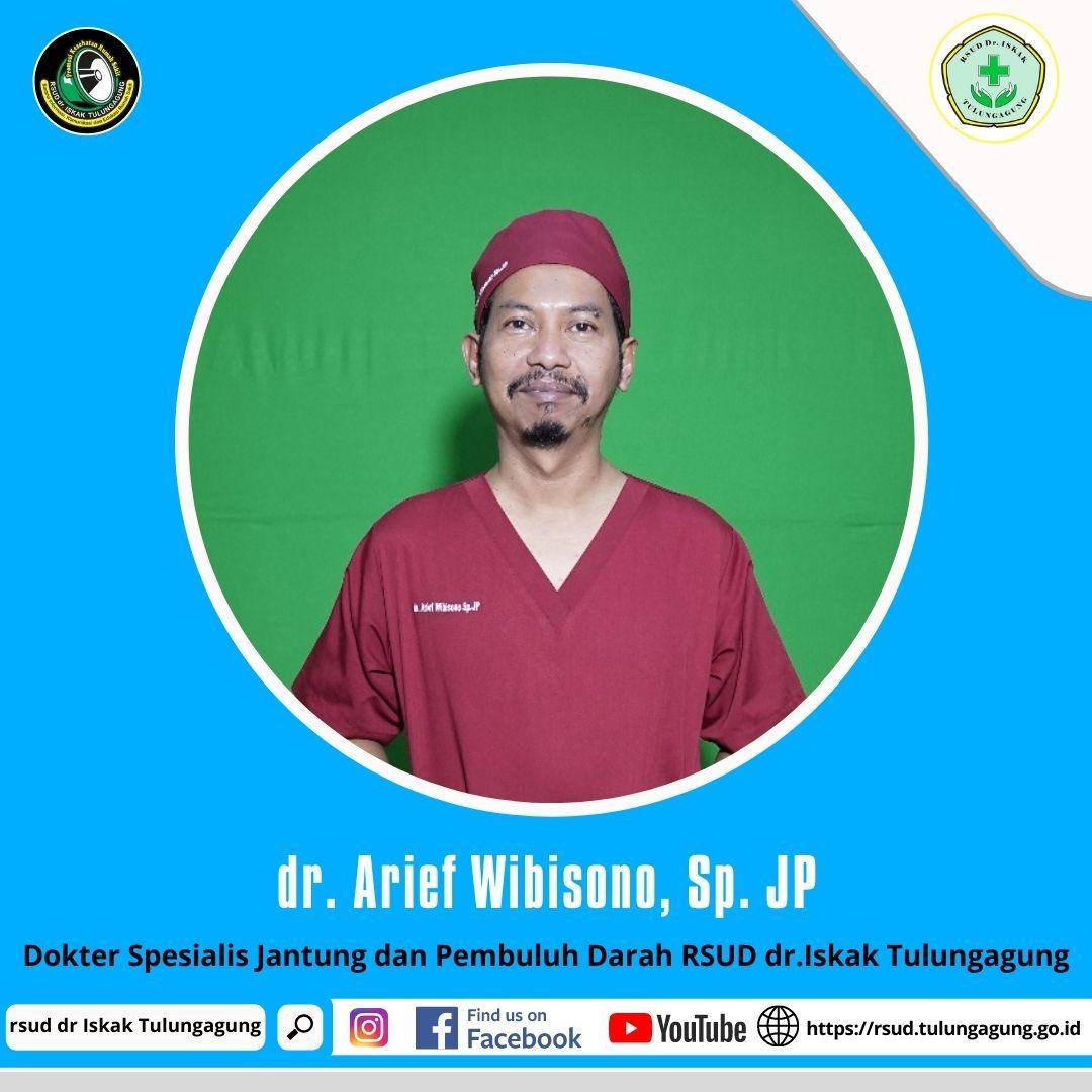 dr. ARIEF WIBISONO, Sp. JP