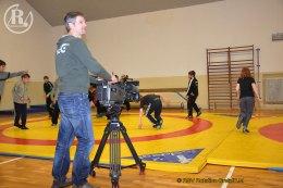 Fernsehsender des MITTELDEUTSCHEN RUNDFUNKS besuchte am Mittwoch eine Trainingsstunde der Jugend-Ringer in der Greizer Jahnturnhalle