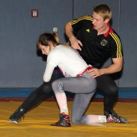 Ringen: Training im Sportpark Rabenberg