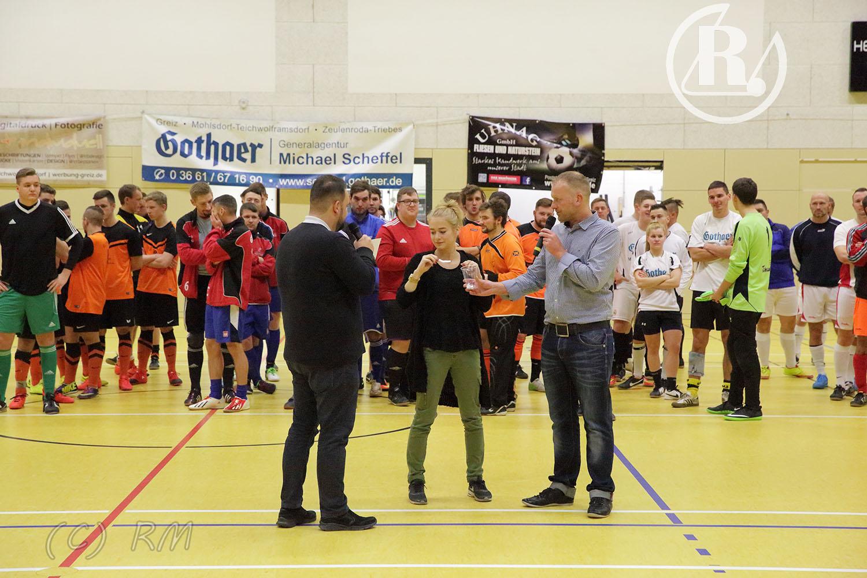 Auswahl des RSV Rotation Greiz nimmt an Weihnachtsturnier teil