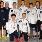 Mitteldeutschen Meisterschaften der Jugend A im Ringen in Zella-Mehlis