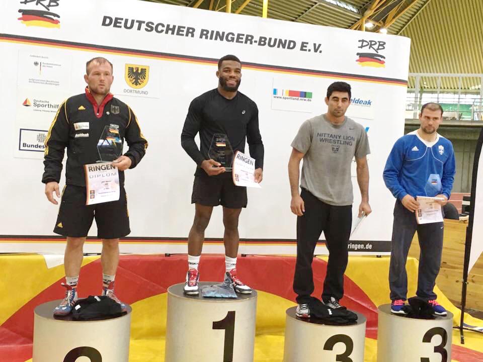 Martin Obst unterliegt Olympiasieger knapp