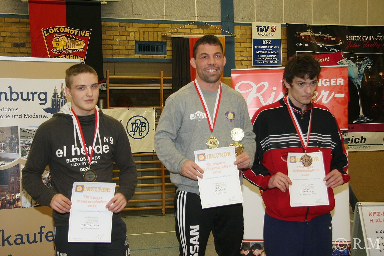 22 Medaillen für Greizer Ringer in Altenburg