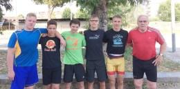 Jugend des RSV Rotation: In Neapel floss der Schweiß