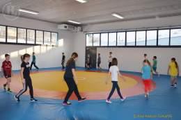 Projektwoche: Greizer Gymnasiasten auf der Ringermatte