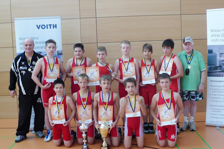 Greizer Ringer gewinnen 2. Regional-Cup in Chemnitz