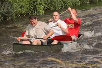 Von der Ringermatte zur Kanu-Fan-Regatta