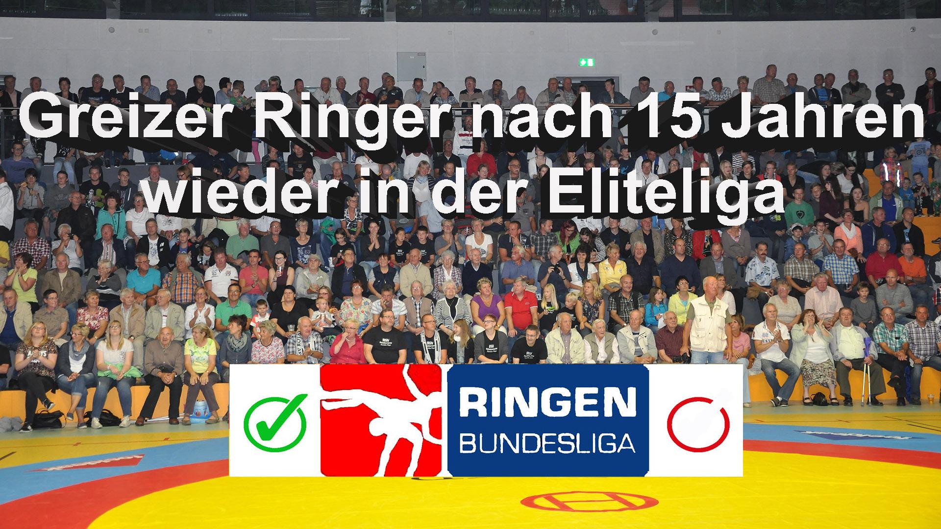 RSV Rotation: Greizer Ringer nach 15 Jahren wieder in der Eliteliga