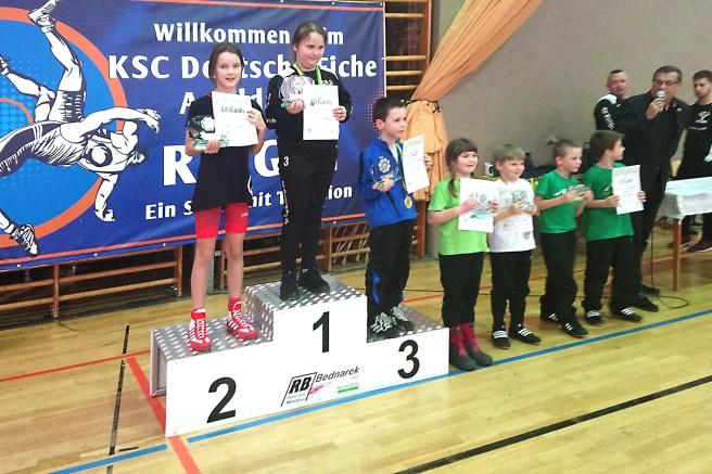RSV-Nachwuchs: Silbermedaillengewinner Leon Weller hatte die meisten Gegner
