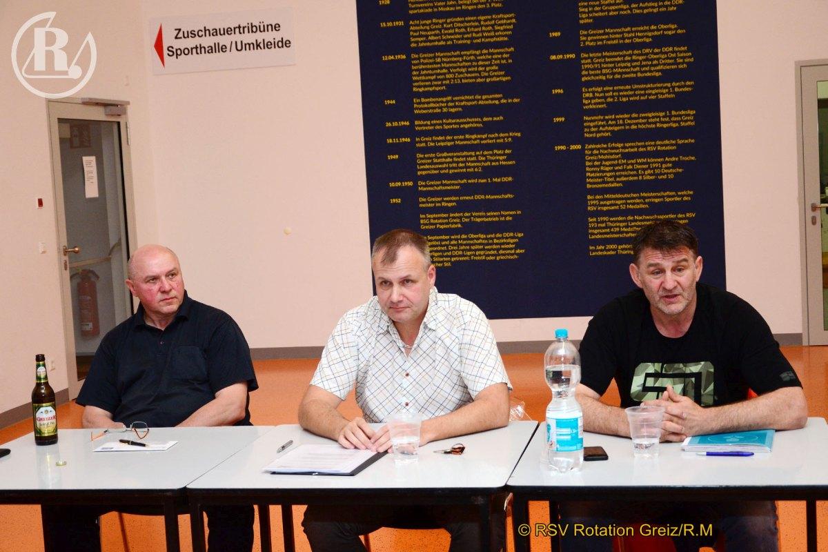 RSV Rotation Greiz: Greizer Mannschaft für die 1.Bundesliga steht